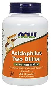 NOW Acidophilus Two Billion,250 Capsules