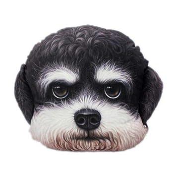Amazon.com: Almohadas de peluche lindo Animal Perro 3d cojín ...