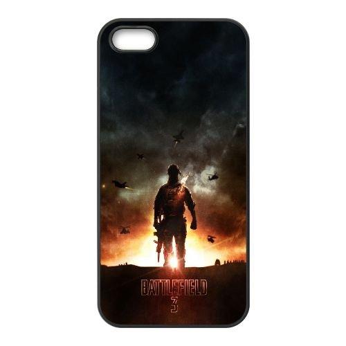 Battlefield 3 00022 coque iPhone 5 5S cellulaire cas coque de téléphone cas téléphone cellulaire noir couvercle EOKXLLNCD22055