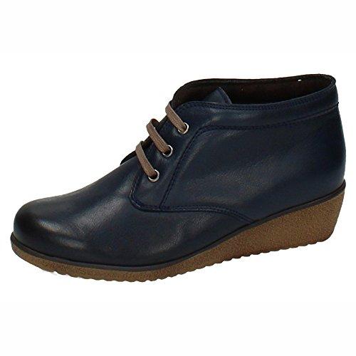 MADE IN SPAIN , Damen Kurzschaft Stiefel , schwarz - Schwarz - Größe: 37