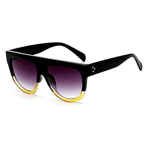 diseñador Burenqi Gafas blindaje Mujer H Gafas Marca Sol Nuevo Plana G Forma Superior de PrPqg