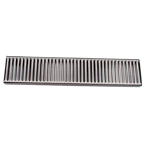 Update DTS-419 Drip Tray - 19-3/8x4-1/8'' Stainless