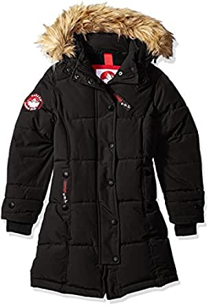 Amazon.com: Canada Weather Gear Girls' Long Heavy Weight