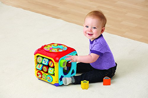 Large Product Image of VTech Sort & Discover Activity Cube (Frustration Free Packaging)