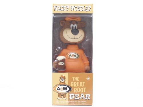 A&W - The Great Root Bear 15cm Bobble Head