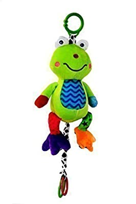 Musical Baby Toy (Large) by Zoomy Baby- Soft, Plush Frog - Huggable Stuffed Animal - Multi-Colored & Hypoallergenic - Infant Toy Attaches to Baby Crib, Child Car Seat & Baby Stroller by Zoomy Baby LLC that we recomend individually.