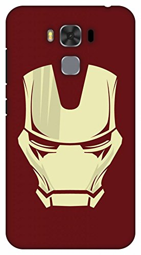 Crazy Beta Iron Man Symbol Printed Back Cover For Asus Amazon