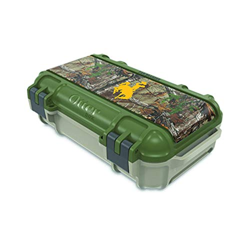 Wyoming Cowboys Pins - Fan Brander NCAA Realtree Design, Compatible with OtterBox Drybox (Wyoming Cowboys)