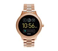 Fossil Gen 3 Q Venture Rose Goldtone Pave Smart Watch