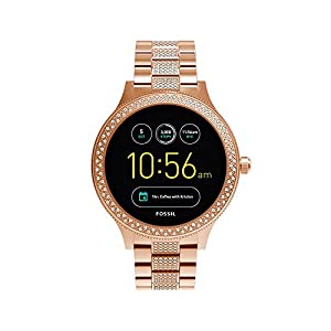 Fossil Q Women's Gen 3 Venture Stainless Steel Smartwatch, Color: Rose Gold (Model: FTW6008)