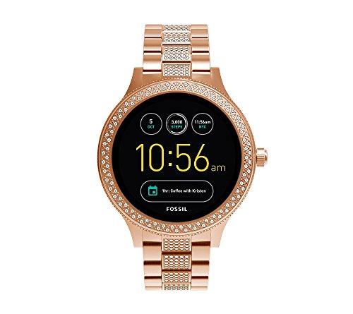 Fossil Q Women's Gen 3 Venture Stainless Steel Smartwatch, Color : Rose Gold (Model : FTW6008)