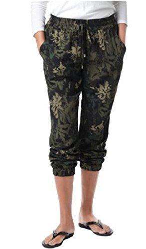 Buffalo David Bitton Ladies Super Flattering Tara Soft Pant (X-Large (14-16), Floral - Galleria Buffalo