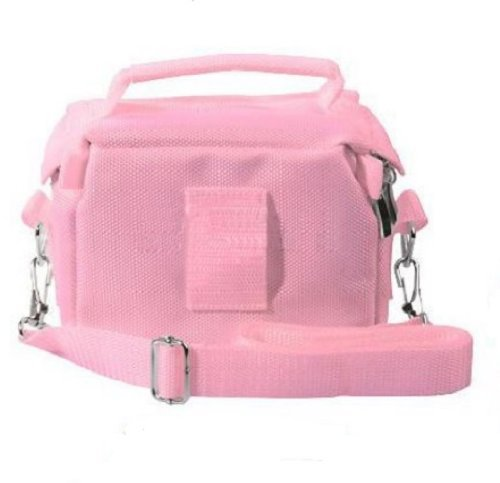 Amazon.com: Fonem8 Pink Travel Bag Carry Case For Nintendo 3Ds ...