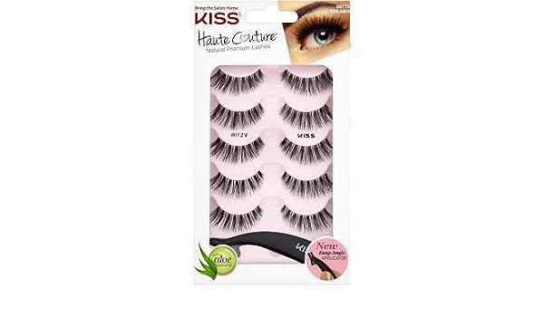db8ca0bd013 Amazon.com: Haute Couture Kiss Multipack Lashes, Ritzy: Beauty