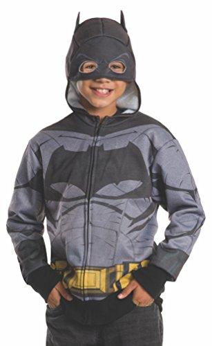 Rubie's Costume Batman v Superman: Dawn of Justice Batman Child Hoodie, Medium (All Batman Characters)