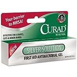 Curad Silver Solution Antimicrobial Gel, .5 Oz.