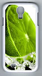 Fresh Lime Hard Cover Back Case For Samsung Galaxy S4,PC White Case for Samsung Galaxy S4