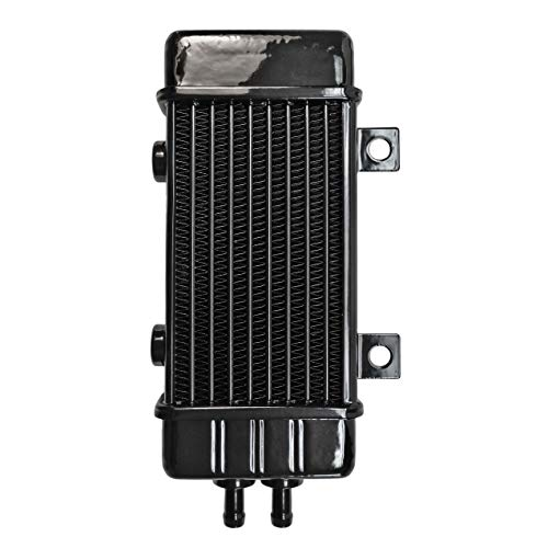 Jagg Oil - Jagg 3160 Universal 10 Row Oil Cooler with 2 Mounting Tabs and 2 Mounting Bosses, No Fan