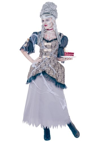 Paper Magic Group Marie Antoinette, Black, Medium (Marie Antoinette Halloween Costume)