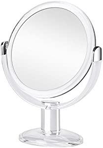Win A Free Orange Tech 1X & 10X Double Sided Magnified Makeup Mirror