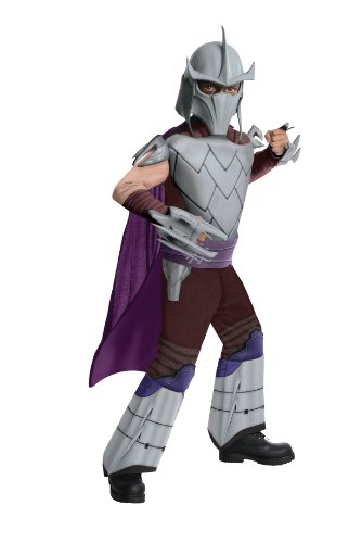 Teenage Mutant Ninja Turtles Deluxe Shredder Costume, Small (Teenage Mutant Ninja Turtles Halloween)