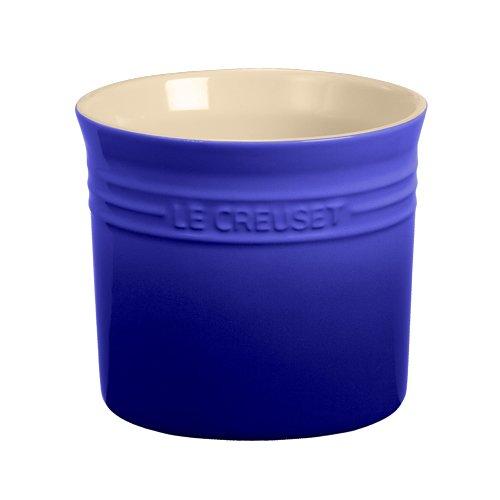 Le Creuset Utensil Crock (Le Creuset Stoneware Small 28-Ounce Utensil Crock, Cobalt)