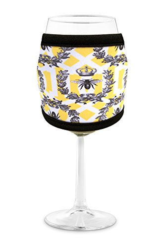 queen bee wine glass - 4
