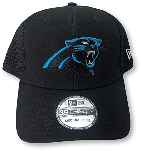 (Carolina Panthers 39Thirty Neo Adult Flex Fit Cap Hat M/L)