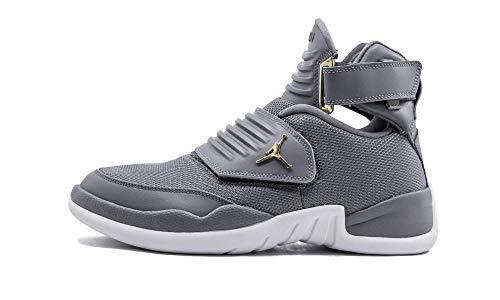 Nike Air Jordan Men's Generation 23 Basketball Shoes (9.5, Cool Grey/White) (Nike Air Jordan Men)