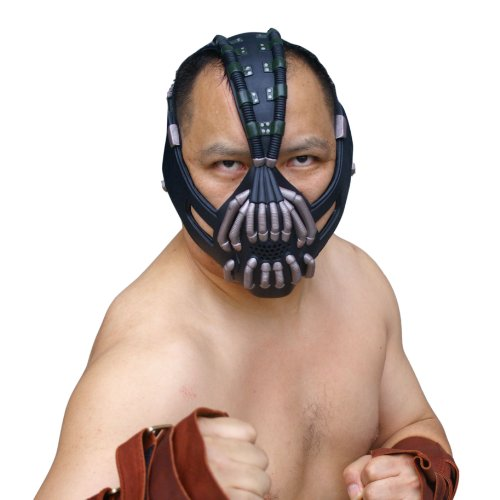 Bane Mask Replica Bronze Version Adult Size for Batman the Dark Knight Rises Xcoser (Dark Knight Costume Replica)