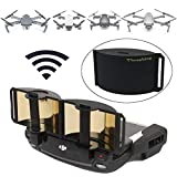 Threeking Foldable Parabolic Signal Booster Range Extender Antenna Extender Compatible for DJI Mavic Pro/Mavic 2 Pro/Mavic 2 Zoom[Not fit DJI Smart Controller]/Spark/Mavic Air Remote Controller