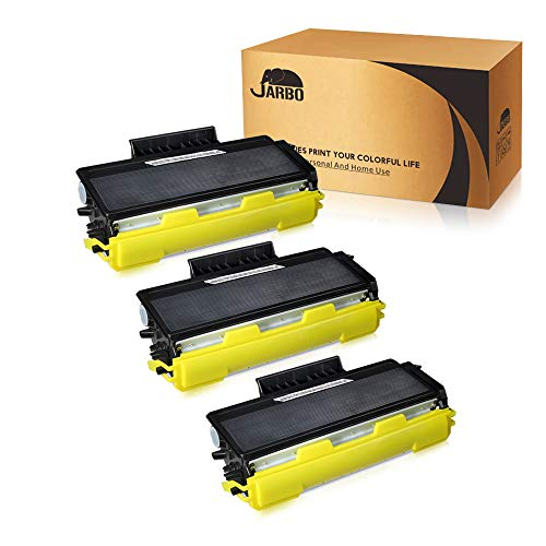 JARBO Compatible for Brother TN650 TN-650 TN580 TN-580 Toner Cartridges, 3 Black, Use with Brother HL-5370DW 5250DN 5340D 5240 Brother MFC-8890DW 8860DN 8480DN 8460N 8870 DCP-8080dn Printer