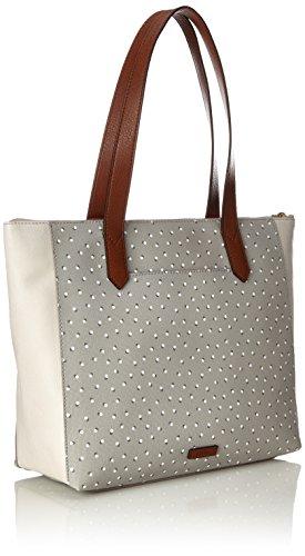 Ew Fiona nbsp; White Gris Cabas Shopper Fossil Grey Damentasche tw6qg