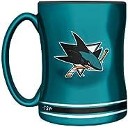 NHL San Jose Sharks Sculpted Mug, 14-Ounce