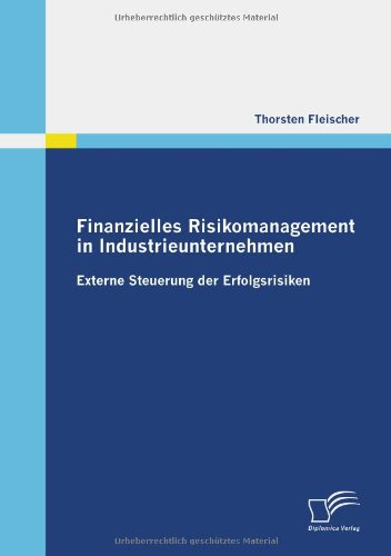 Finanzielles Risikomanagement in Industrieunternehmen: Externe Steuerung der Erfolgsrisiken