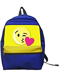 Aaronna Kiss Emoji Kids Classic Backpack Unisex Water Resistant School Rucksack Travel Backpack