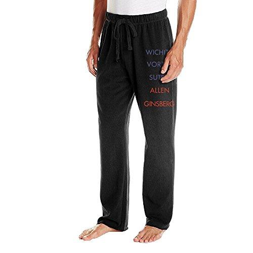 Caryonom Men's Allen Ginsber Jersey Pant Black L
