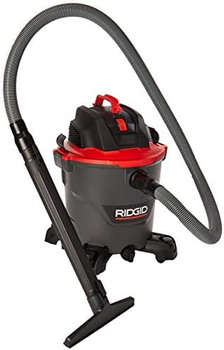 Ridgid 40103 10 Amp 5 Peak Hp 12 Gallon High Performance Wet Dry Vac