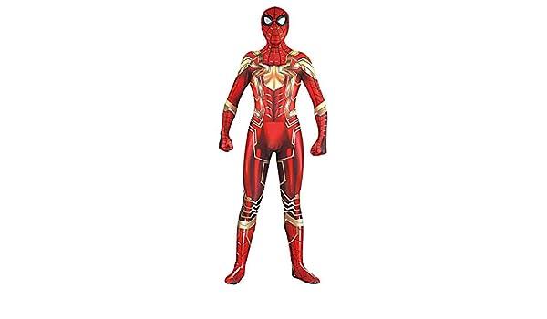 HUIHONG Nuevo Spiderman Disfraz Disfraz Juego De Roles Body Monos ...