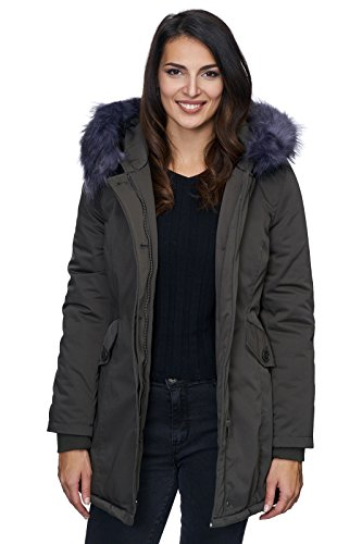 blau Blouson Femme Selection Creek Rock Khaki wq1xT7Z7X