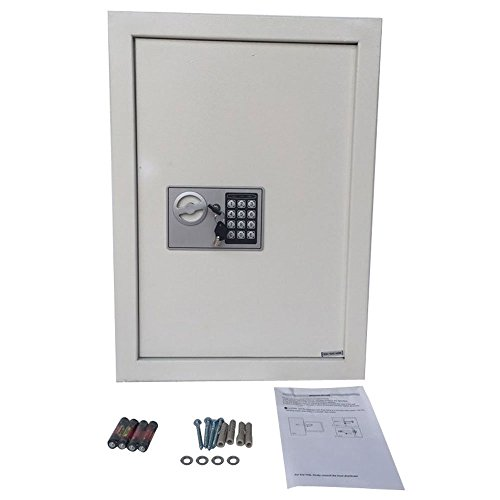 Digital-Electronic-Steel-Fireproof-Home-Office-Jewelry-Gun-Security-Wall-Hidden-Safe-Box-Lock