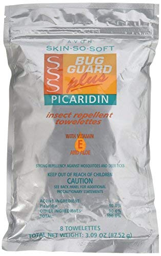 Avon Skin So Soft Bug Guard + Picaridin Towelettes 8's (Day Trips From New York Without A Car)