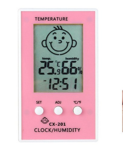 Baby's Room Electronic Digital Standing/Hanging Type Household Thermometer Hygrometer Humidiometer Temperature Indicator