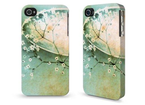 """Hülle / Case / Cover für iPhone 4 und 4s - """"Sahne"""" by Marie-Luise Schmidt"""