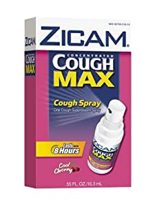 Amazon Com Zicam Cough Concentrated Max Cough Spray Cool
