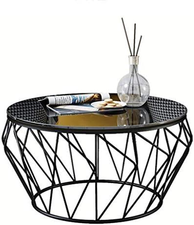 Goedkoop LAMXF zijtafel bank hardglas bijzettafel, woon- / showroom balkon bank bijzettafel cocktailtafel snactafel  uLpgP8w