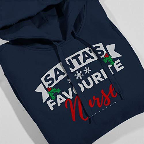 Blue Santas Hooded Favourite Christmas Coto7 Sweatshirt Navy Women's Nurse 86qdznxwB