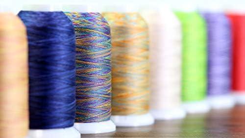 NICKCotton Thread 3-Ply 40wt 2000 yds Superior Threads King Tut #1001 ST