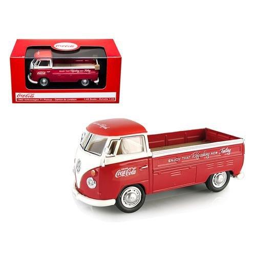 ★ モーターシティ社 コカ・コーラ (1/43) 1962 VW ピックアップ レッド (440546) ミニカーの商品画像
