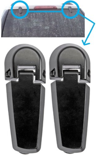 Mercury Window Rear Mountaineer (APDTY 035271 Rear Window Glass Hatch Hinge Set Pair Fits 2002-2005 Ford Explorer 4-Door Or Mercury Mountaineer 4-Door (Rear Left & Rear Right Included; Replaces 2L2Z78420A68AA, 2L2Z-78420A68-AA))